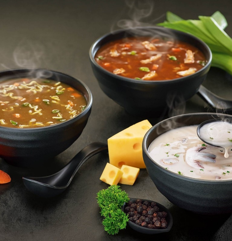 International soups